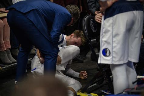 luka doncics ankle injury  expose  dallas