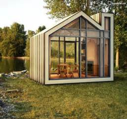 Forged Fireplace Doors by Bunkie Is A Tiny Prefab Home For Your Favorite Getaway