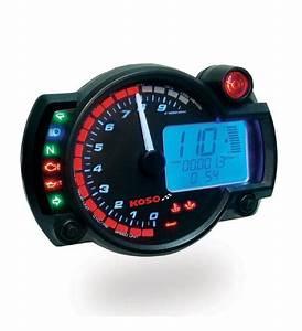 Koso Rx2 N  Gp Style 10000 Rpm Speedometer