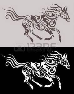 Horse tribal ornament … | vinil | Pinterest | Vinil ...