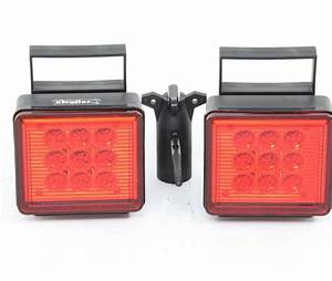 Pilot Magnetic Tow Lights - Red Leds