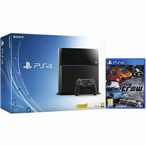 Sony PlayStation 4 500GB Console - Includes The Crew Games ...