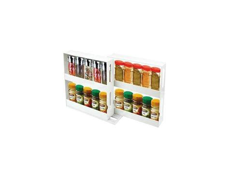 Store N More Spice Rack by Store N More Swivel 20 Spice Organizer Rack Newegg