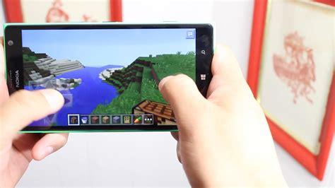minecraft pocket edition gameplay on windows phone