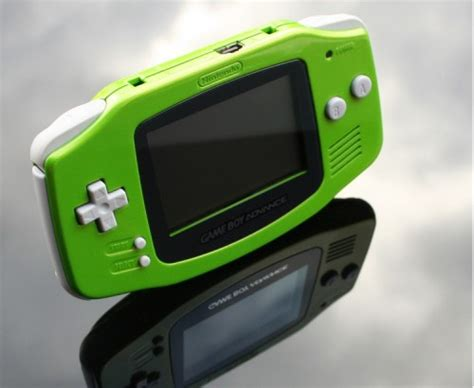 Green Game Boy Advance by Zoki64 image - Walyou