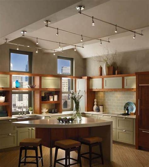 kitchen track lighting ideas  pinterest track