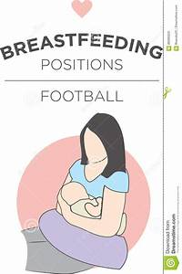 Football Breastfeeding Position Stock Vector - Image: 89395020