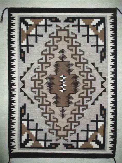 Navajo Indian Rugs by Two Grey Rug By Betty Navajo Rug Two