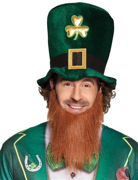 green top hat beard st patricks day hatsand fancy