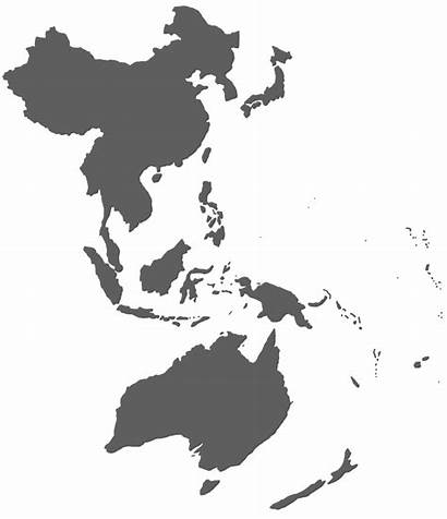 Asia Pacific Map Region East Area Prayer