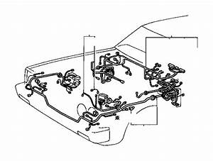 Toyota Corolla Wire  Engine  No  2  Wiring  Electrical