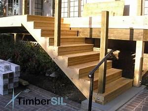 18 solutions pour creer un escalier exterieur With comment faire un escalier exterieur en bois