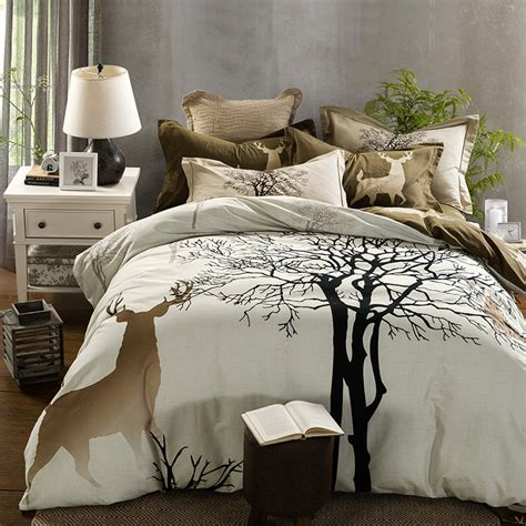 100 cotton bedding sets queen size bed linen bedclothes