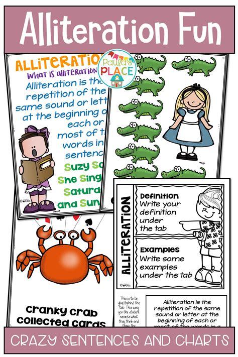 alliteration activities alliteration activities