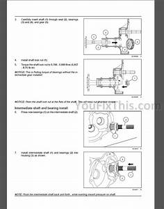 New Holland Workmaster 35 40 Repair Manual  Tractor   U00ab Youfixthis