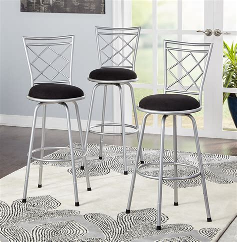 bar stools set   high seat chairs adjustable swivel