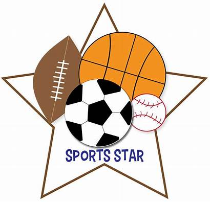 Sports Clipart Clip Star Crafts Request Let