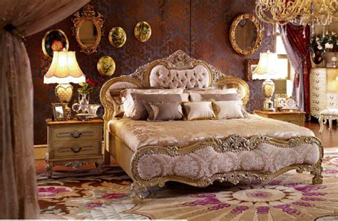 traditional upholstered bedroom collection  classic
