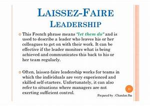 laissez faire leadership example - DriverLayer Search Engine
