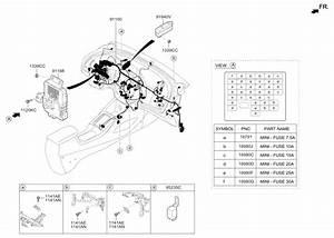 2016 Kia Forte Main Wiring