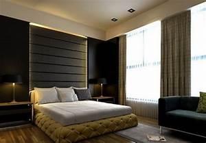 de couleur plus fonc e de la chambre coucher style With couleur de chambre a coucher moderne