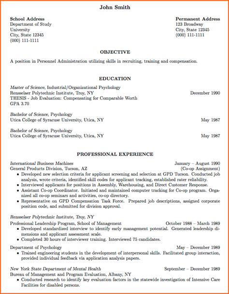 Best Cv Resume by 6 Professional Curriculum Vitae Format Sle Budget Template Letter