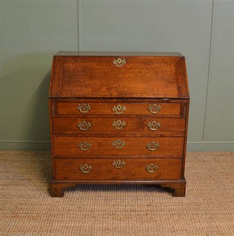 bureau qualit quality george iii walnut antique bureau 288897