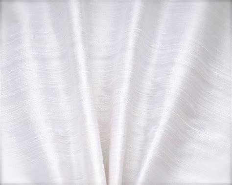 snow white silk dupioni drapes curtains dreamdrapes
