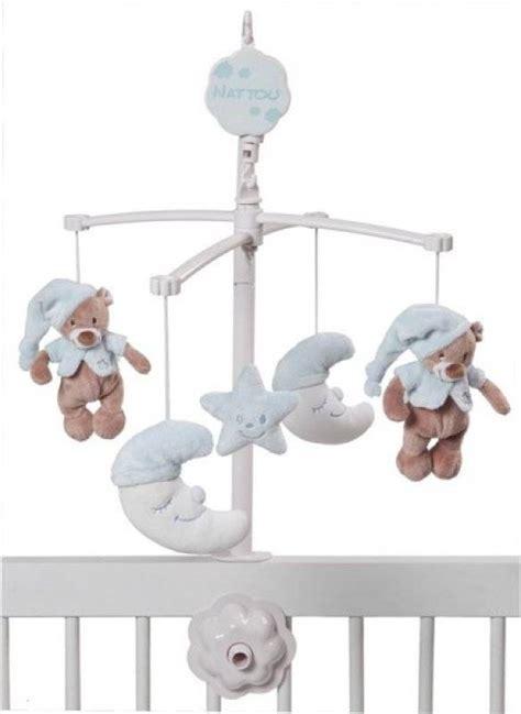 robe de chambre bebe fille nattou mobile musical bleu bibou doudouplanet