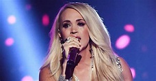 Carrie Underwood ACMs performance after face stitches