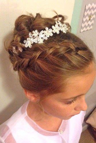 cute flower girl hairstyles  update  flower