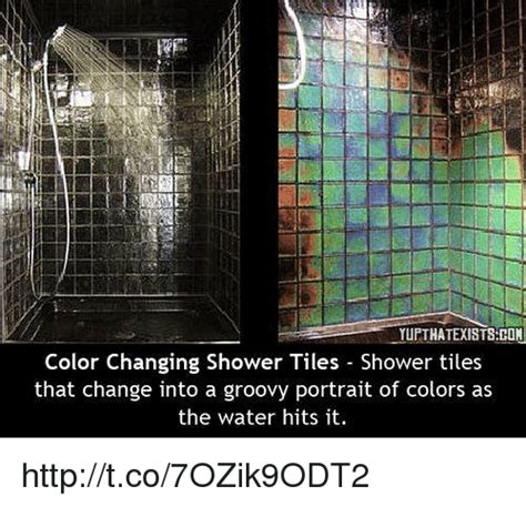 shower that changes color yupthatexistshon color changing shower tiles shower tiles