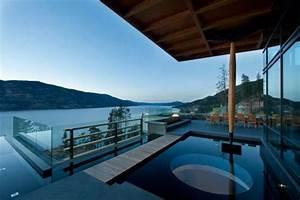 Lake, View, Mansions, Kelowna, House