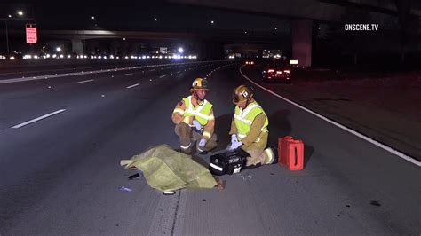 Anaheim: Motorist Dead After Running Across Lanes From ...