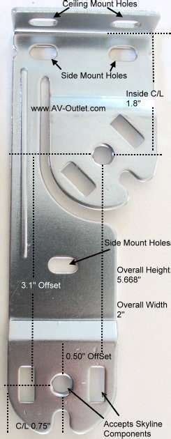 rollease skyline double shade brackets vertical living