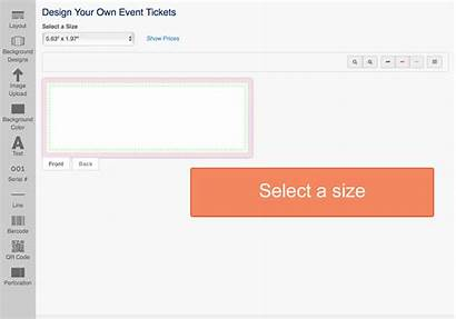 Tickets Event Ticket Create Own Tool Printing
