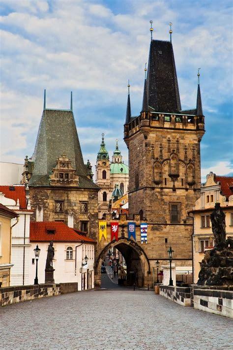 Charles Bridge In Prague Czech Republic Architecture