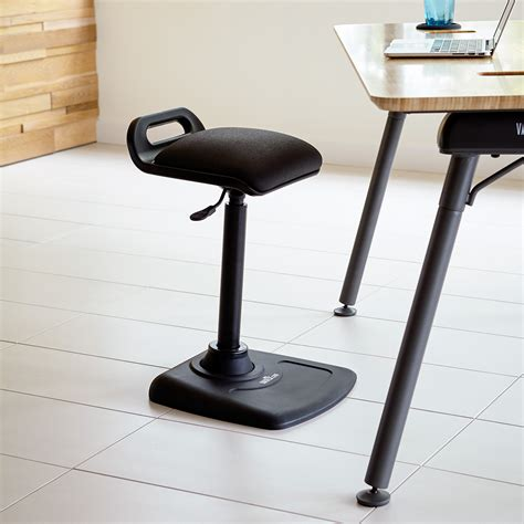 standing desk office chair varichair varidesk 174