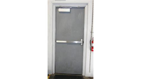 choose  correct exit device  provide safe