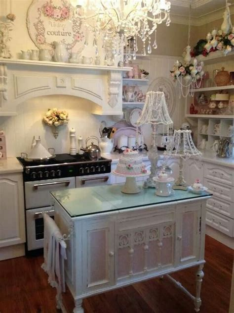 shabby chic cabinets kitchen 50 sweet shabby chic kitchen ideas 2017 5139
