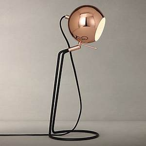 4 ways to set the mood in your home sheerluxecom for Copper floor lamp john lewis