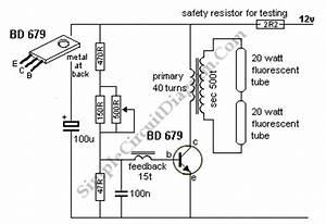 12v 6 12 watt fluorescent tube neon lamp inverter With neon circuit tester neon tube tester