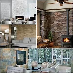Steinwand Im Wohnzimmer : steinwand wohnzimmer eine gehobene und stilvolle einrichtung ~ Sanjose-hotels-ca.com Haus und Dekorationen