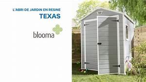 Abri De Jardin En Rsine Texas BLOOMA 585445 Castorama