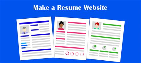 Make Resume Website by Make A Resume Website 5 Essential Tips On How To Do It Right