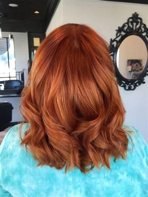 Pumpkin Spice Hair Color Hair And Beauty Ginger Hair