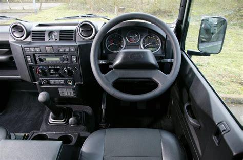new land rover defender interior land rover defender 1983 2016 interior autocar