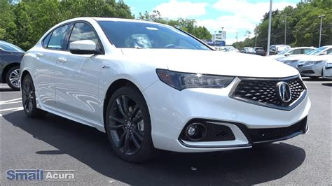 new 2018 acura tlx 3 5 v 6 9 at sh awd with a spec at