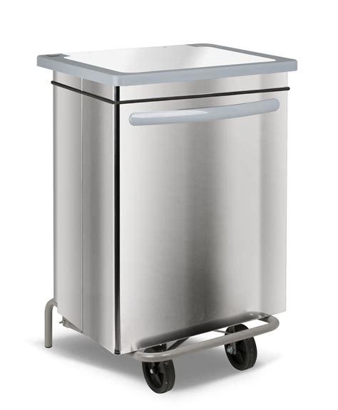 poubelle cuisine poubelle cuisine inox haccp carénée 70 litres
