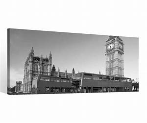 London Skyline Schwarz Weiß : leinwand 1 tlg london england schwarz wei skyline bilder wandbild canvas 9c121 holz fertig ~ Watch28wear.com Haus und Dekorationen